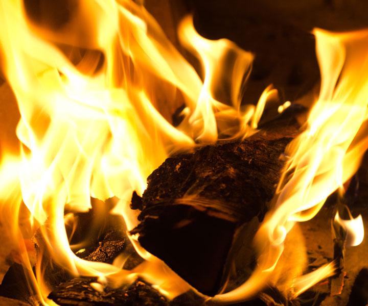 Под Красноярском чуть несгорели сразу две деревни