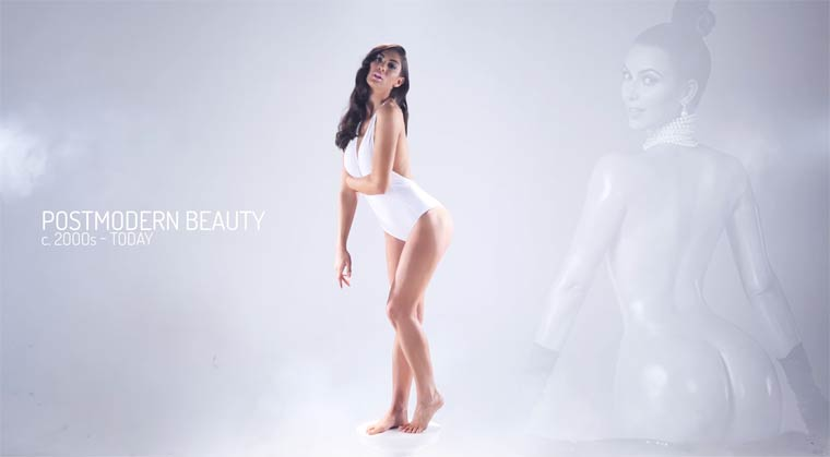 Beauty Evolution - Evolution of women's ideal body through 3,000 years of history