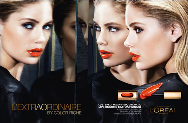 Doutzen, Fan, Lara & Natasha for L'Oreal Paris L'Extraordinaire