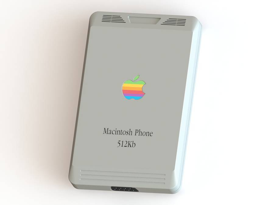 Macintosh Phone Concept