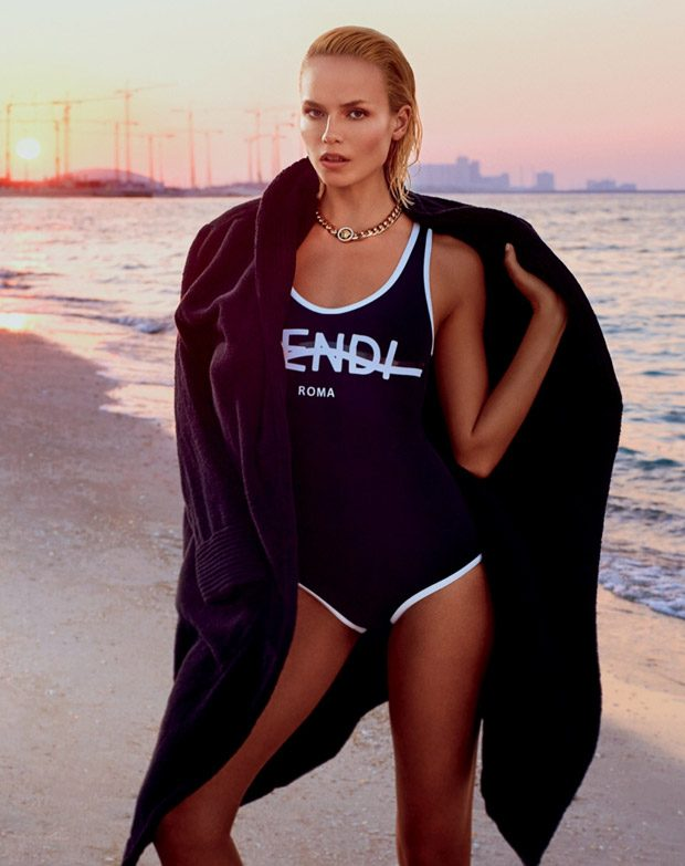 Vogue Russia enlists supermodel Natasha Poly to star in the cover story of their June 2017 edition l