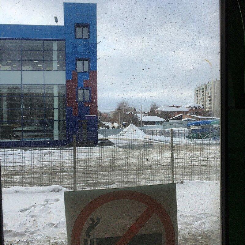 Зима на АМЗ