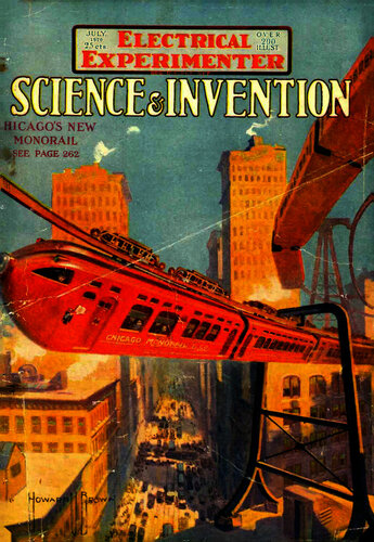Electrical Experimenter: 1920 July - - Book Cover