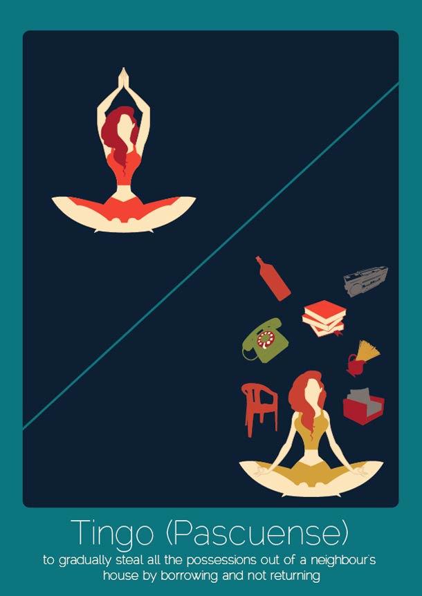 28 mots intraduisibles illustres par Anjana Lyer