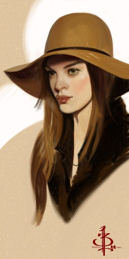 Portrait Illustrations by Bryan Lee