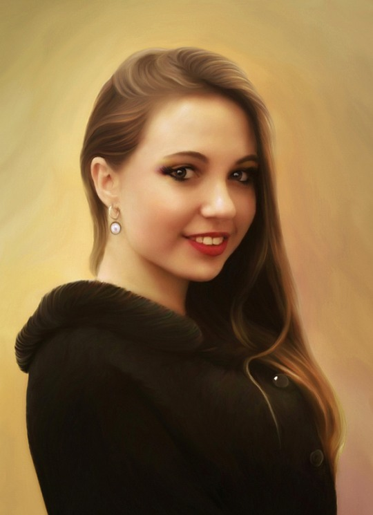 Beautiful Digital Portraits by Igor Grushko