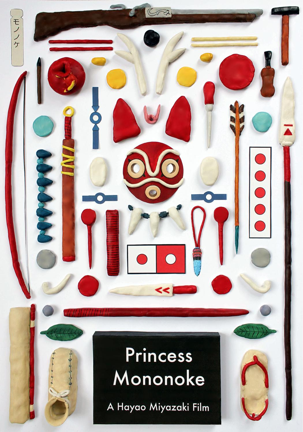 Studio Ghibli's Objects made with Plasticine by Jordan Bolton