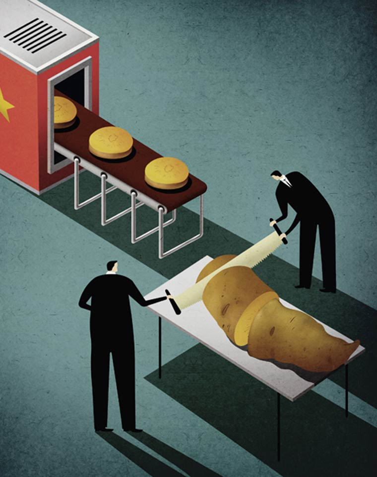 Les illustrations satiriques de Kai Ti Hsu