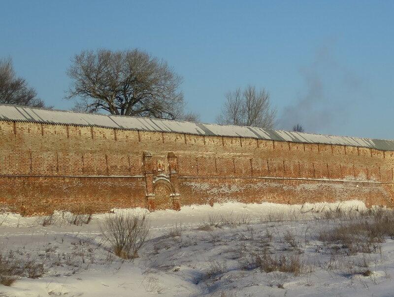 Спасо-Прилуцкий монастырь. Юго-восточная стена