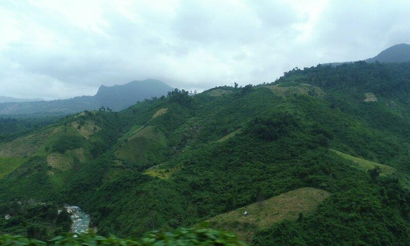 Дорога через горный первал