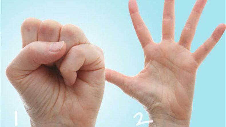 Десять невероятно легких упражнений для пальцев