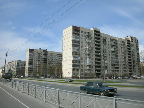 пр. Луначарского 108к1, парадные 6-7