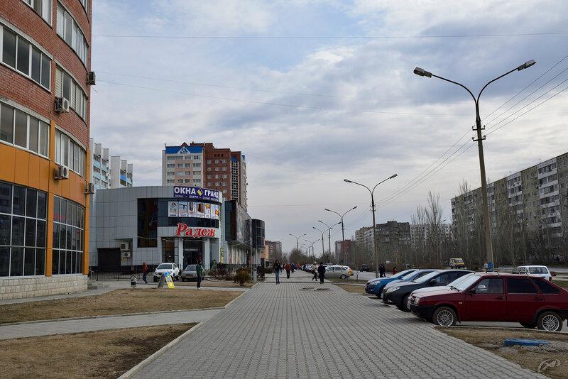 Пешеходные дороги в г. Волжский