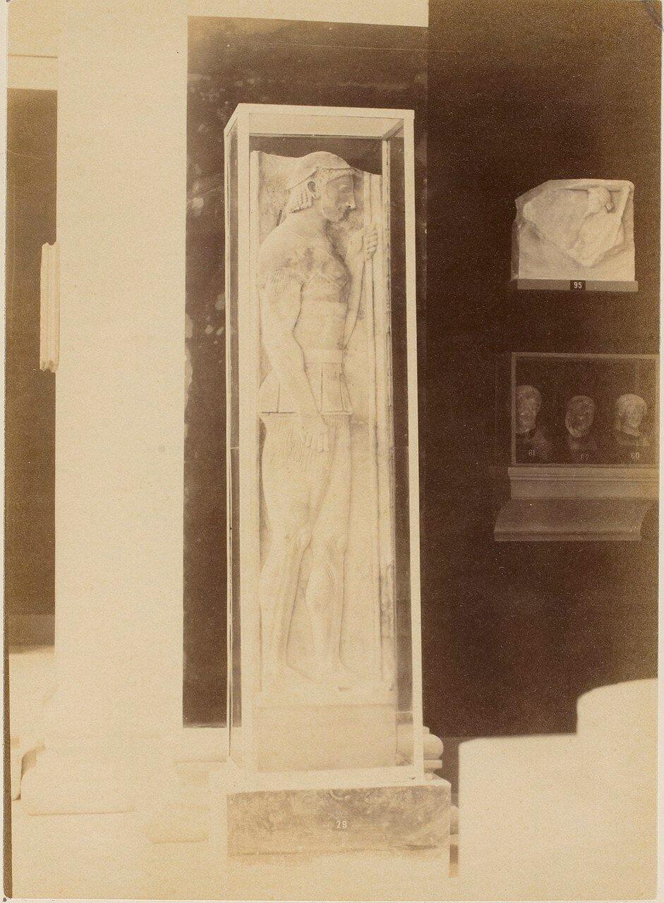 109. Аристокл. Мемориальная стела воина Аристиона. VI в. до н.э.