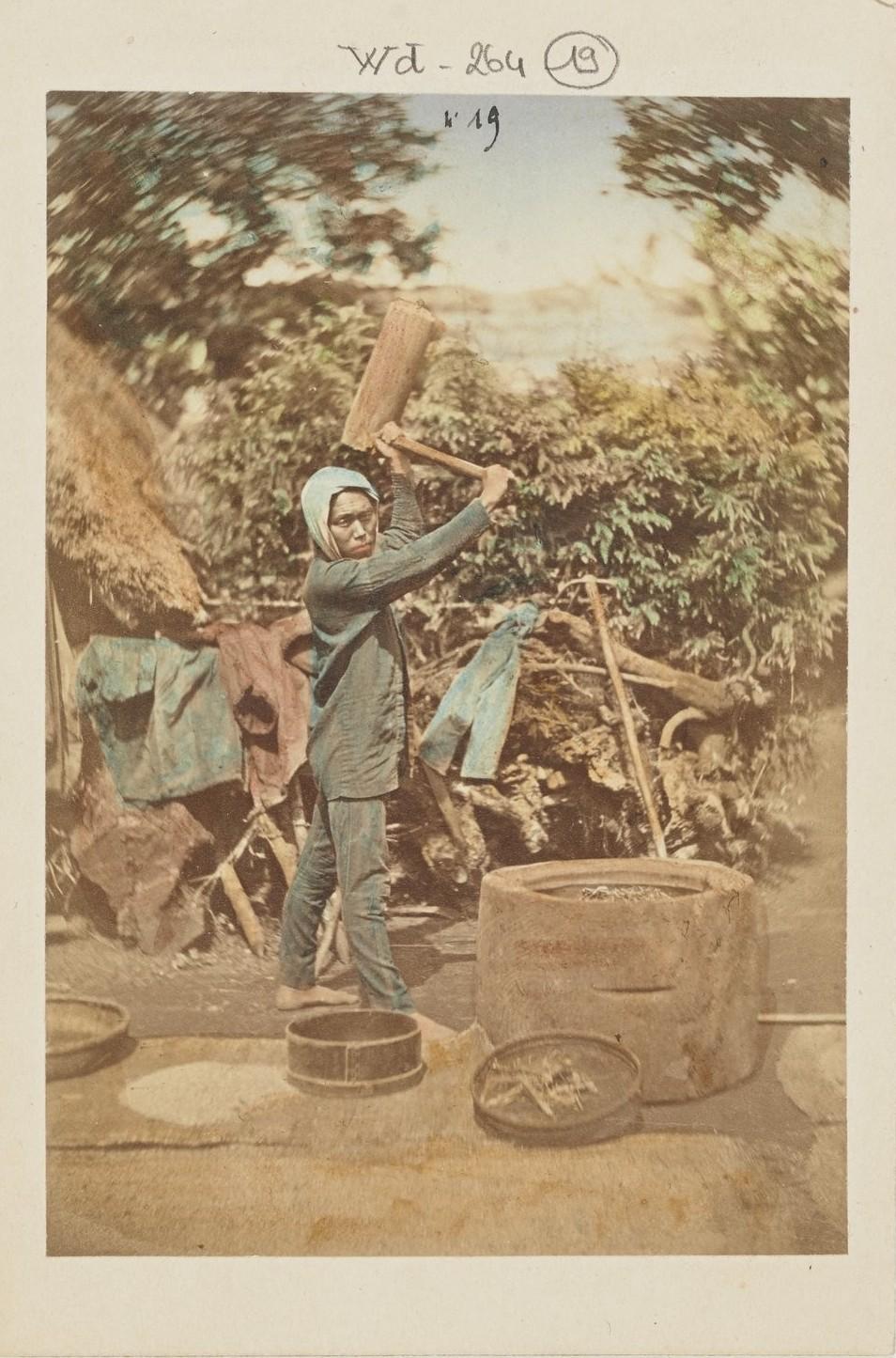 Деревенский житель
