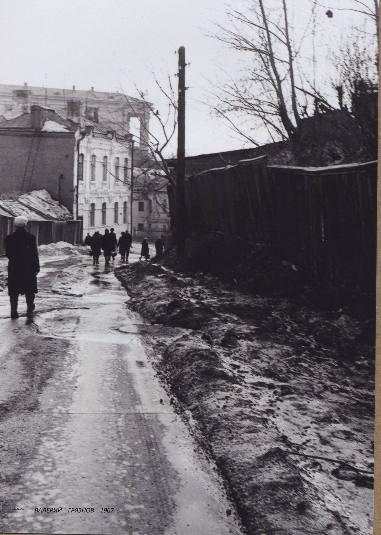 1967. Сад Эрмитаж, Кочетов переулок, весна
