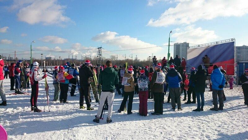 Лыжня России - 2017 в Парке 850-летия Москвы