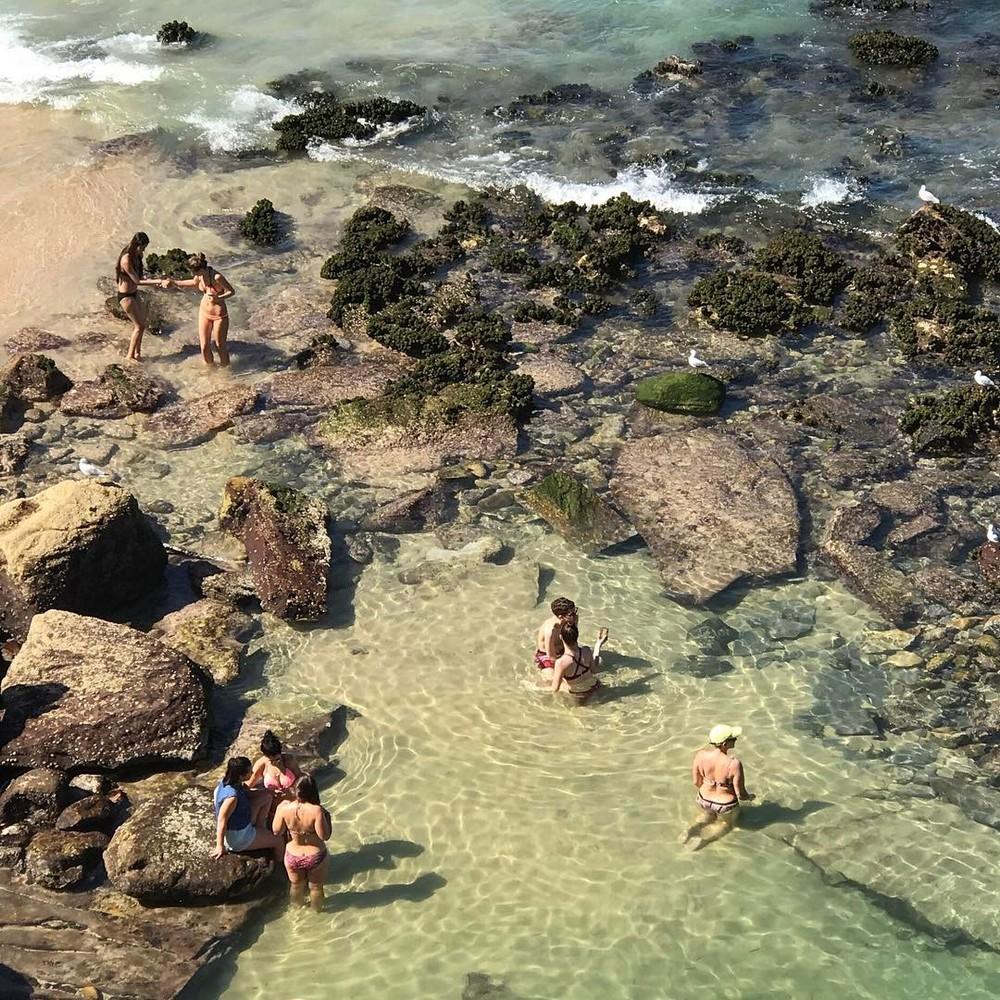 Пляж Бонди сверху