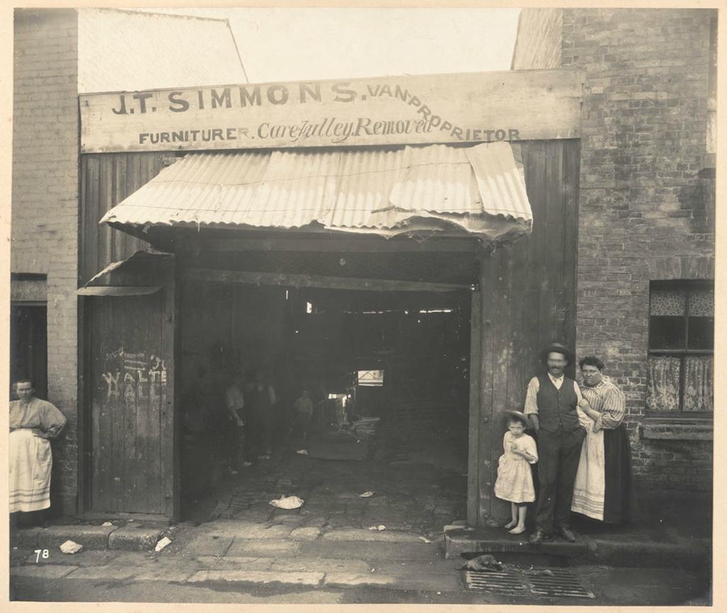 Сидней под властью чумы 1900 г.
