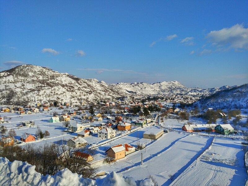 Черногория в январе 2017