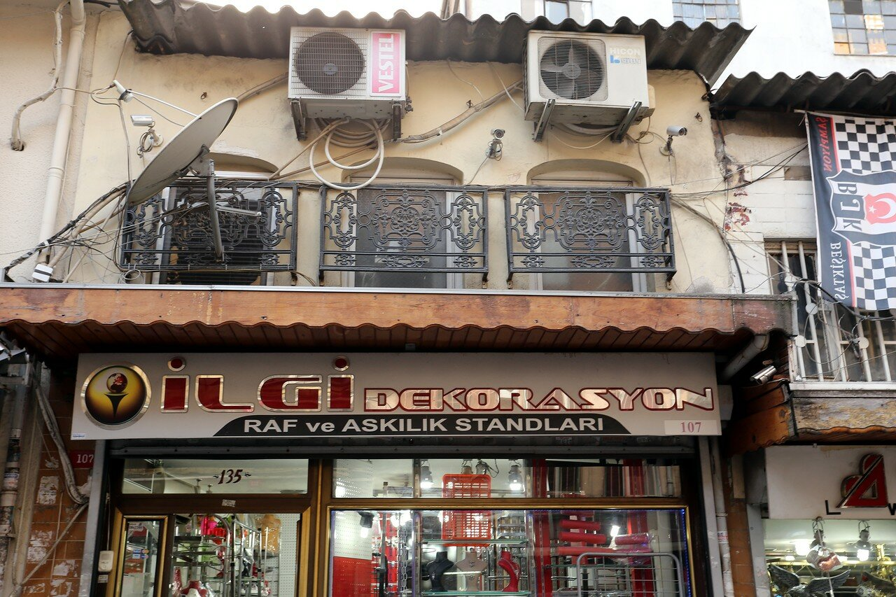 Стамбул. Фатих. Торговая улица Узун Чарши (Uzun Çarşı Cd.)