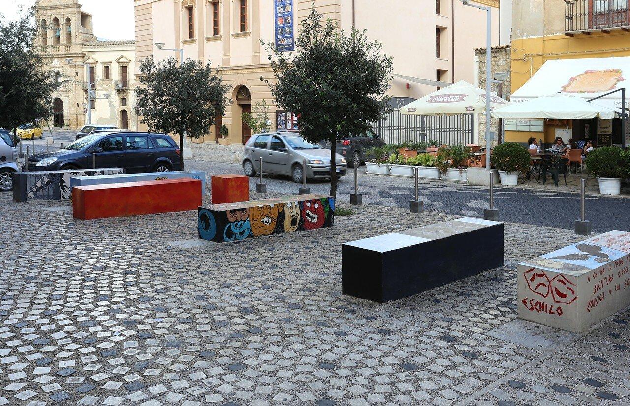 Jela. St. Augustine's Square (Piazza Sant'agostino)