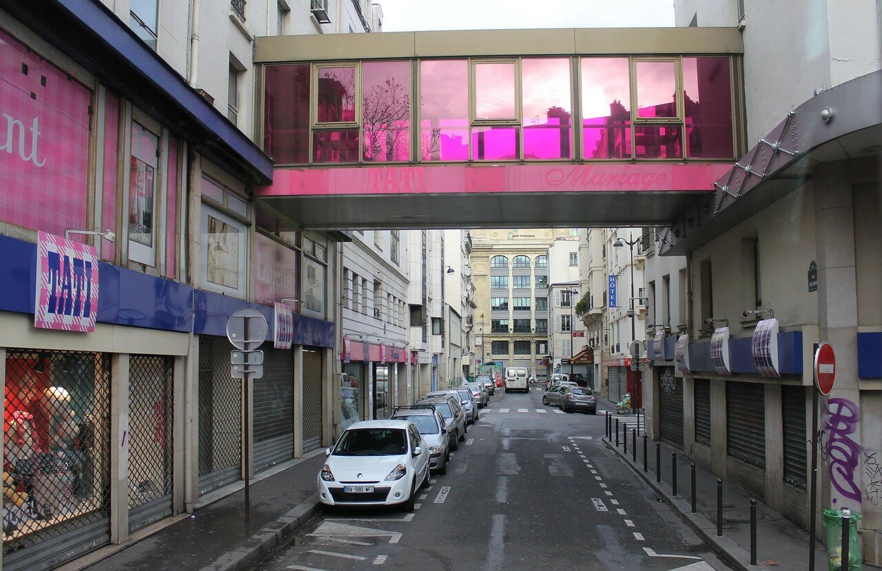Boulevard de Rochechouart. Tati department store