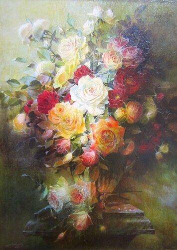 Авдеев Михаил Анатольевич (родился в 1972 году). Розы. 2017 год.