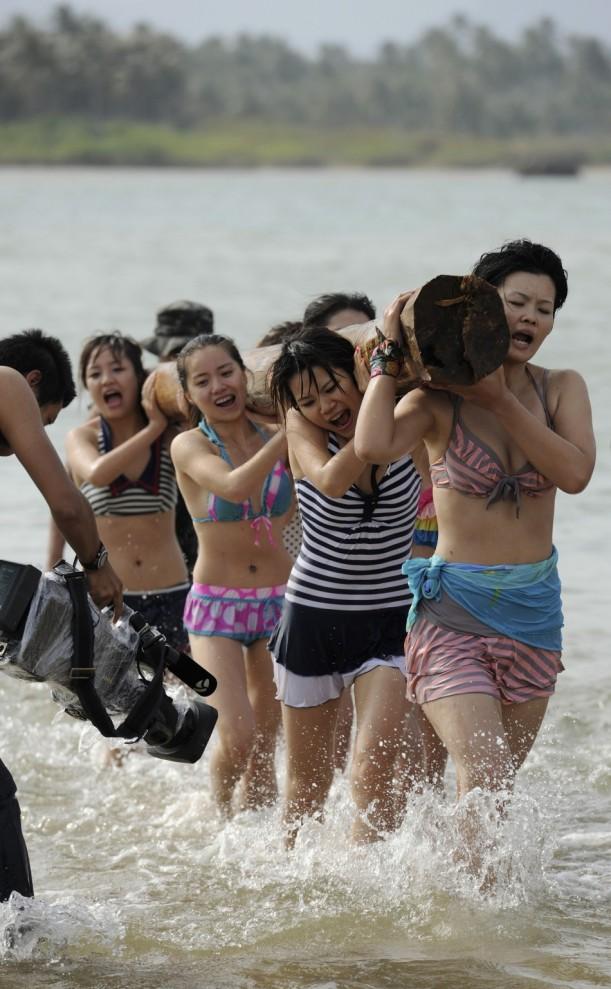 8. Это первые групповые курсы девушек-телохранительниц в Китае. (Reuters)