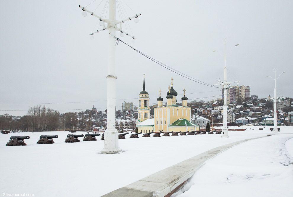 Непарадный снежный Воронеж.
