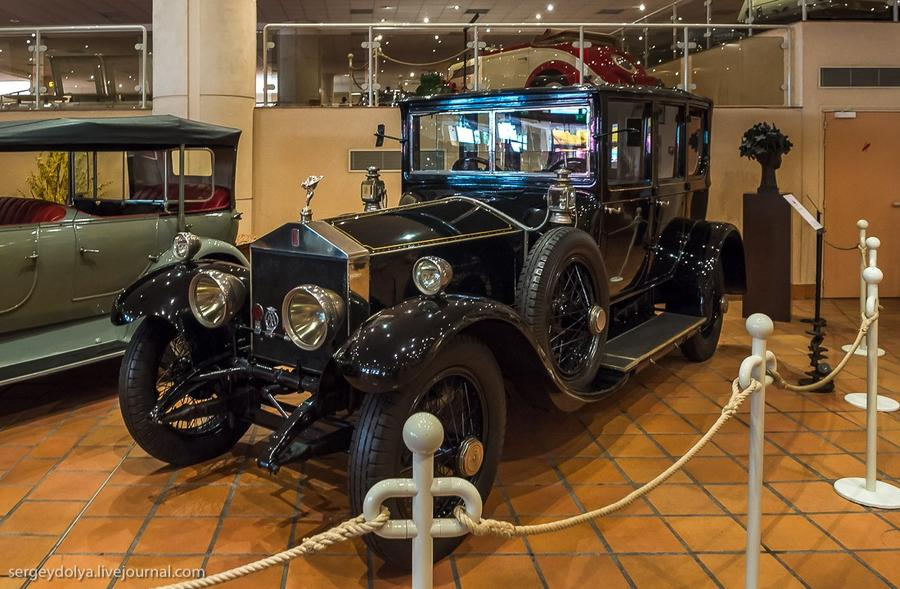 3. Rolls-Royce Silver Ghost 1921 года.