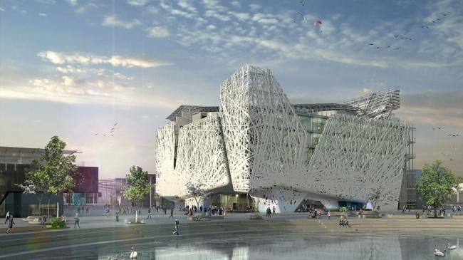 © newatlas  Итальянские ученые уверены, что если хотябы 15% зданий будут построены изподобн
