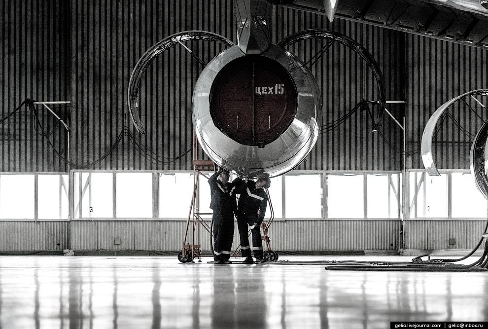 10. Именно в этом цехе Воронежского авиазавода во второй половине 1960-х годов собирали первый