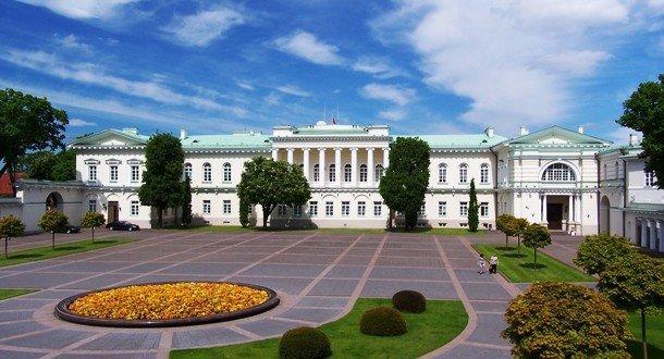 8. Президентский дворец, Литва Этот Президентский дворец, находящийся в Вильнюсе, является главным о
