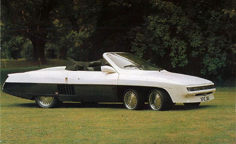 Tyrrell P34 (1976). Самый знаменитый шестиколёсный автомобиль в мире, единственный стартовавший в го