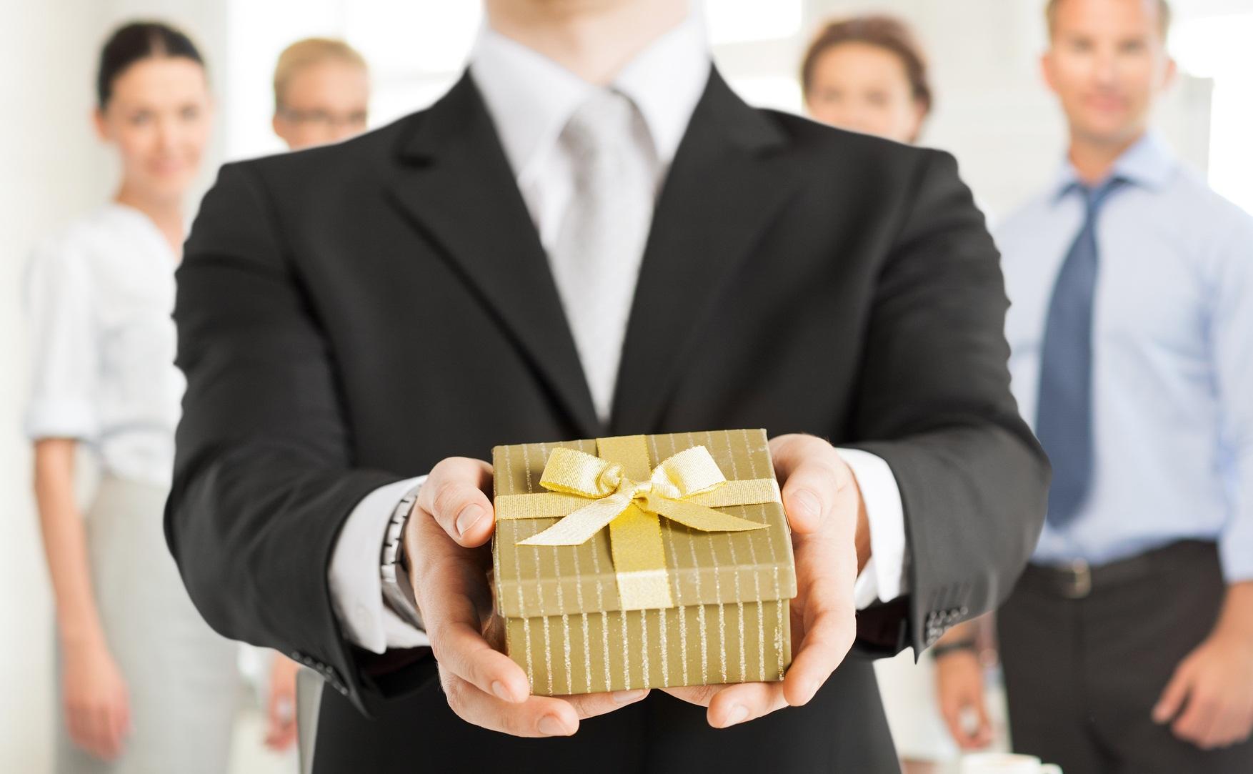 Корпоративная этика дарения   подарка