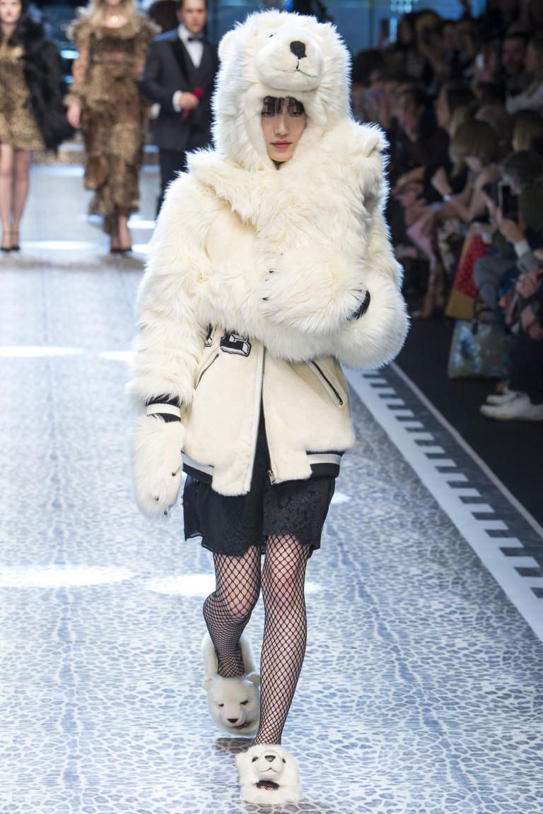 Неделя моды в Милане: Dolce & Gabbana осень 2017