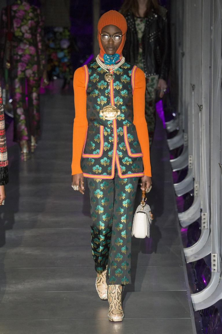 Неделя моды в Милане: Gucci осень/зима 2017/18