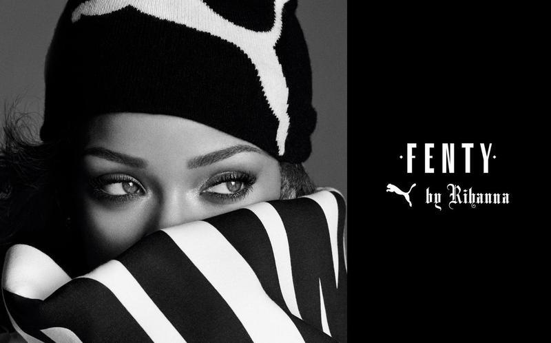 Рианна в рекламной кампании Fenty Puma
