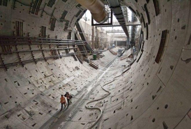 Руководители проекта сообщают, что туннелепроходческая машина будет разобрана: некоторые детали буду