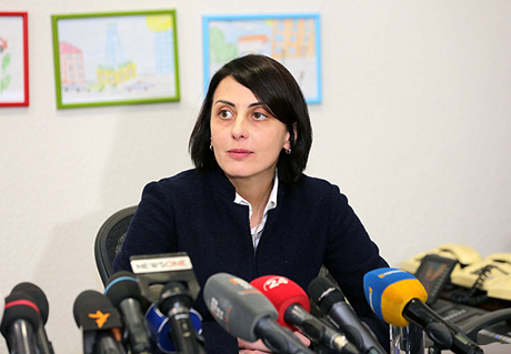 Деканоидзе прокомментировала задержание сына вГрузии