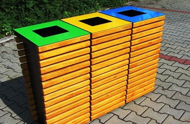 Вворонежских парках установят урны для раздельного сбора мусора