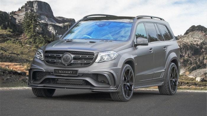 Для богачей: новый тюнинг Mercedes-Benz GLS