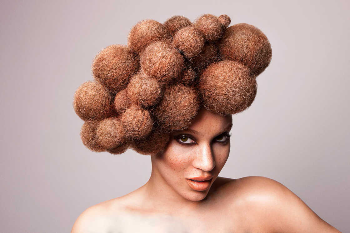 Afro Amour Collection – The incredible afro hairstyles by Lisa Farrall (18 pics)