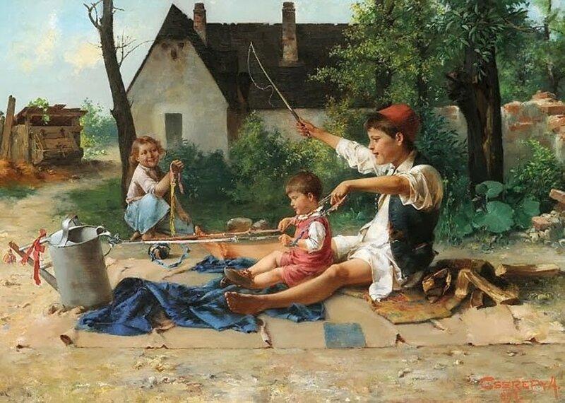 3 Cserépy_Children_playing_1897.jpg