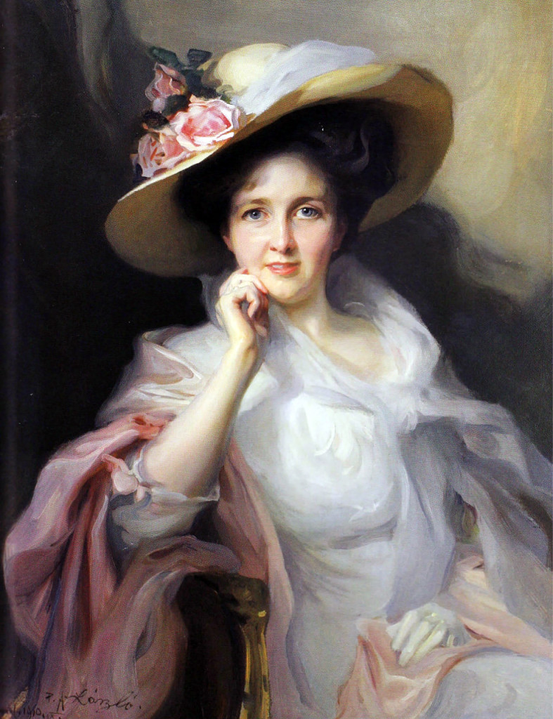 «Дама в шляпе с розами», 1903.jpg