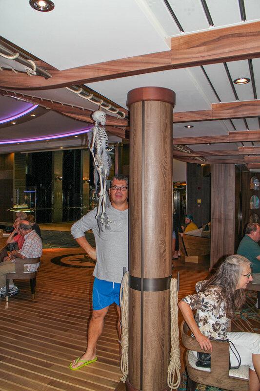 Super King Size, или «Интербанда» пересекает Атлантику (Круиз на «Harmony OTS» 23/10/2016)
