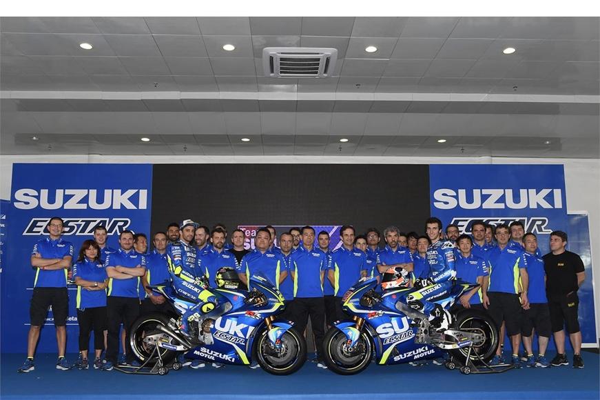 Презентация команды Suzuki Ecstar 2017