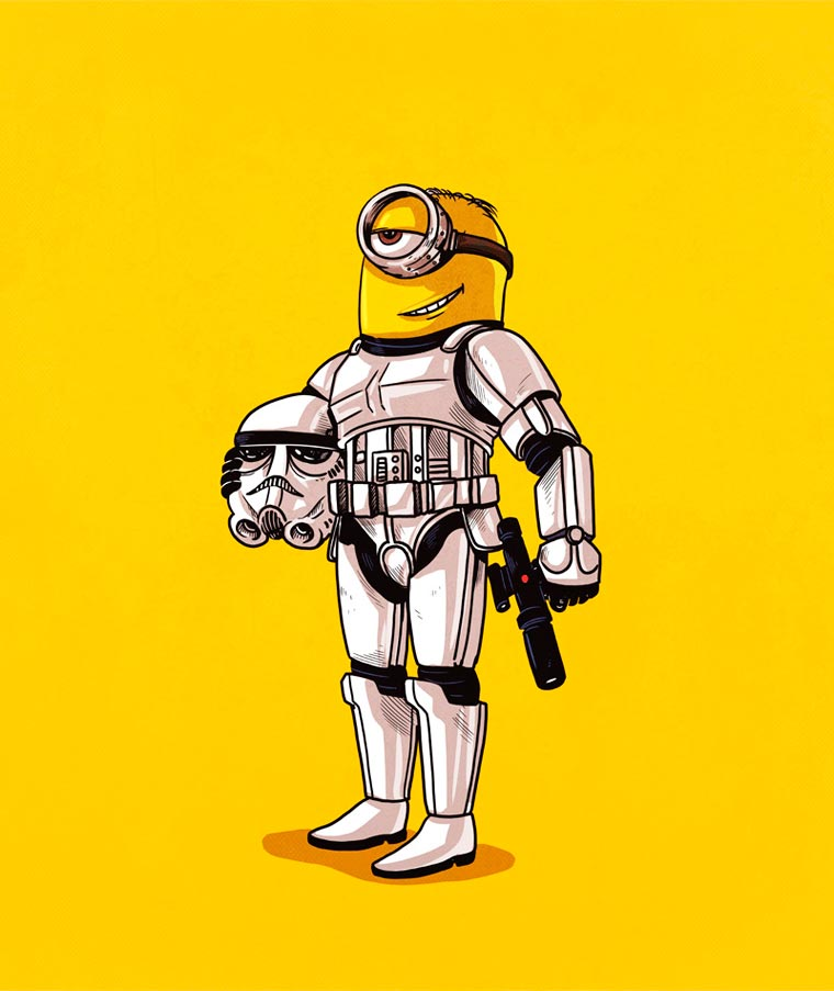 Icons Unmasked - The true face of iconic characters from pop culture