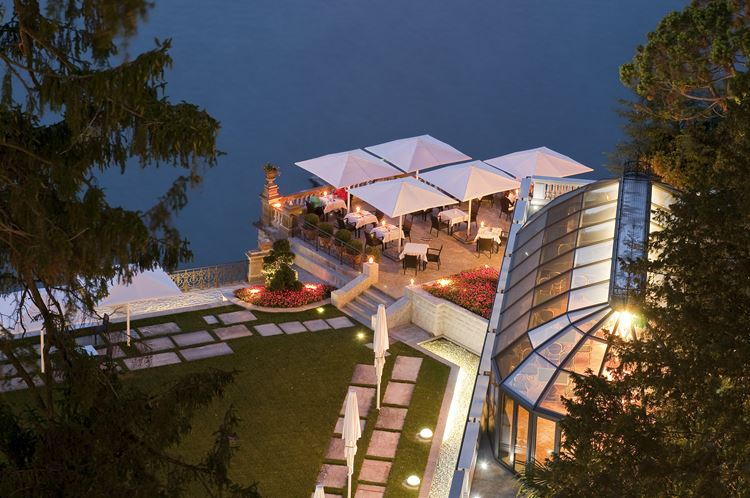 Курорт CastaDiva Resort & Spa на озере Комо